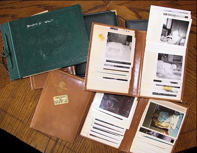 Photo Albums - Lorelle VanFossen collection.