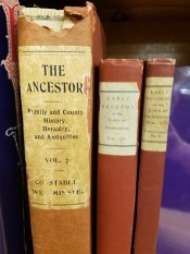 Books - Old Books - The Ancestory and Family History books - photo by Lorelle VanFossen