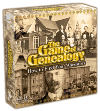 Games - The Game of Genealogy How to Find Your Ancestors game box.