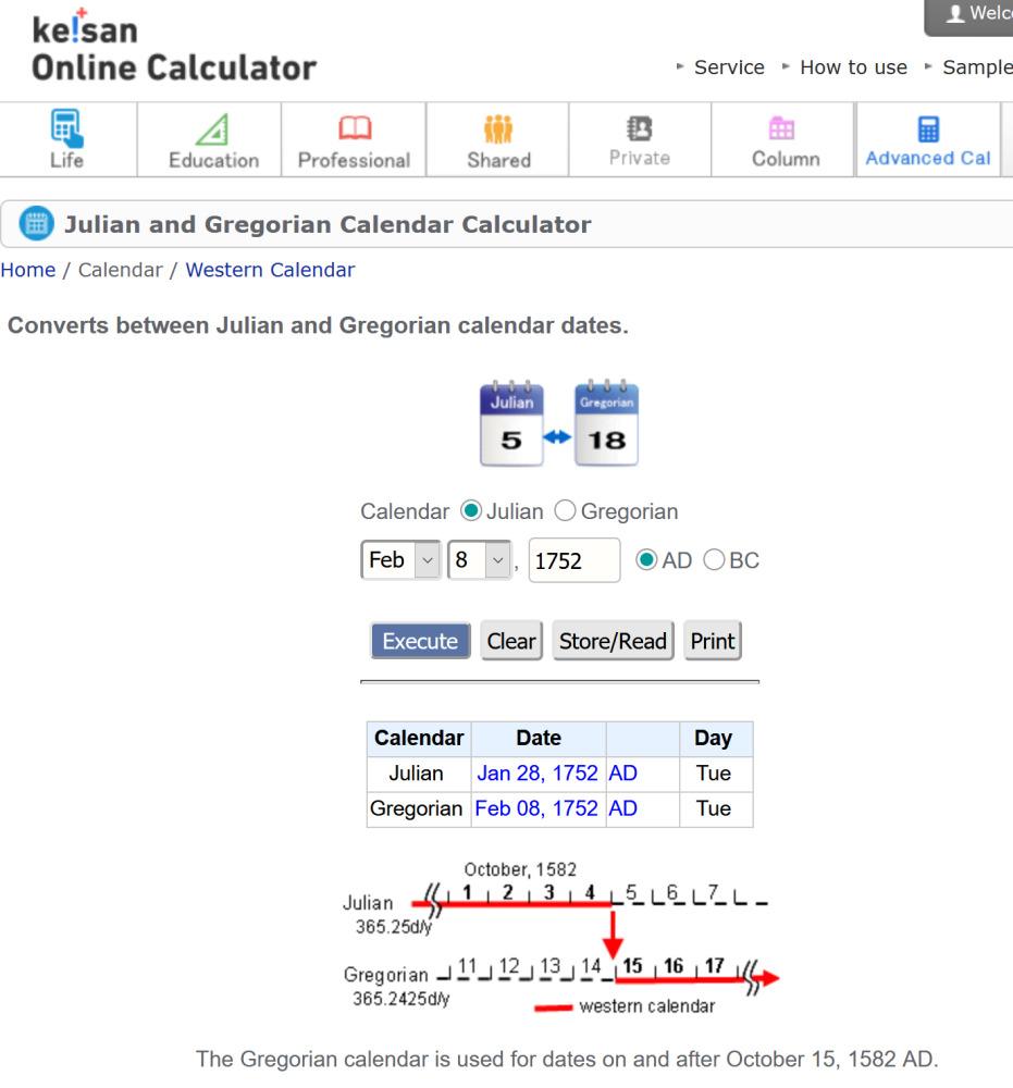 Screenshot_2021-02-08 Julian and Gregorian Calendar Calculator